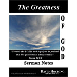 Image of The Greatness of God by The Greatness of God