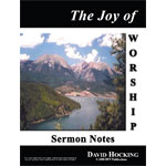 Image of The Joy of Worship Notes by The Joy of Worship Notes