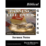 Image of Biblical Giving Notes by Biblical Giving Notes